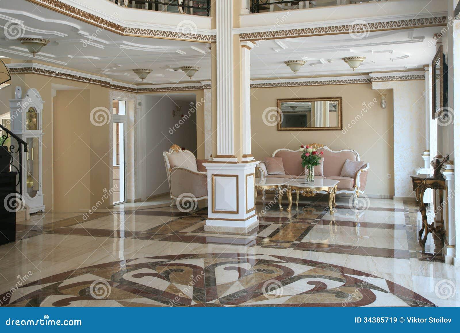 Interno dell albergo di lusso