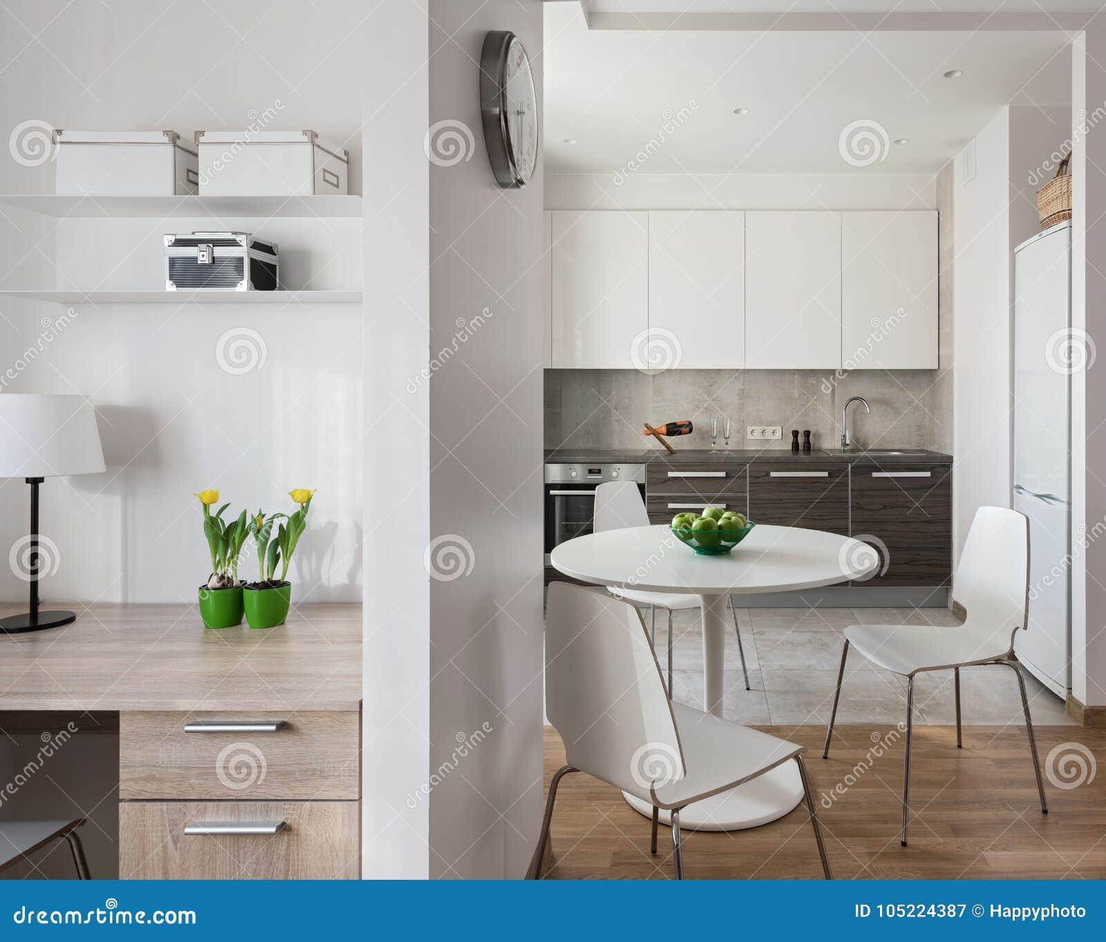 Interno dell 39 appartamento moderno nello stile scandinavo for Interno moderno