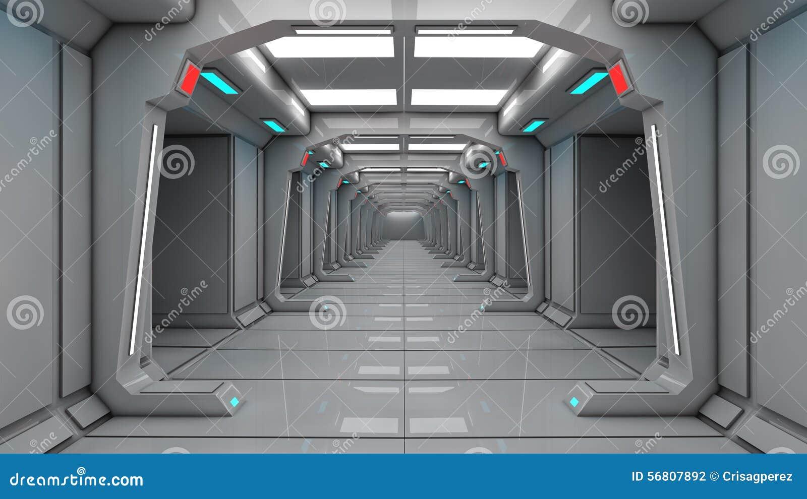 Interno dell 39 astronave vista concentrare con il pavimento for Pavimento interno moderno