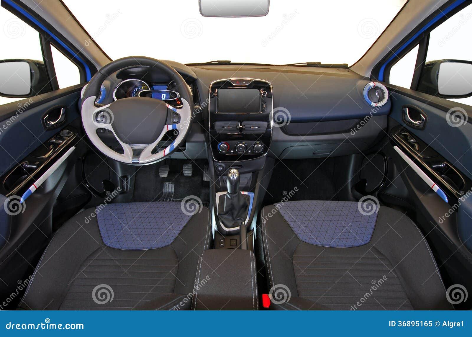 Download Interno dell'automobile immagine stock. Immagine di interno - 36895165