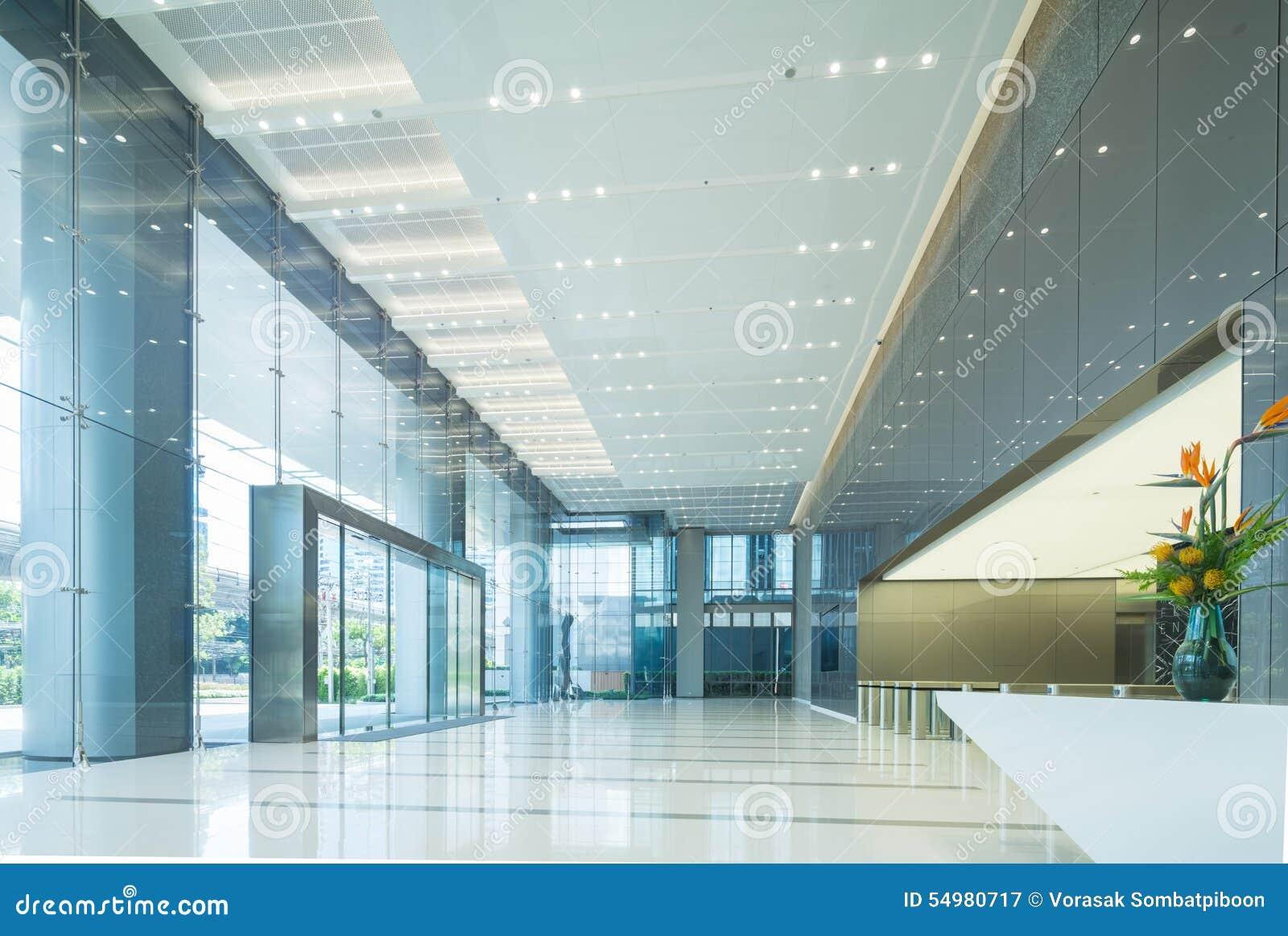 Interno dell ingresso dell ufficio