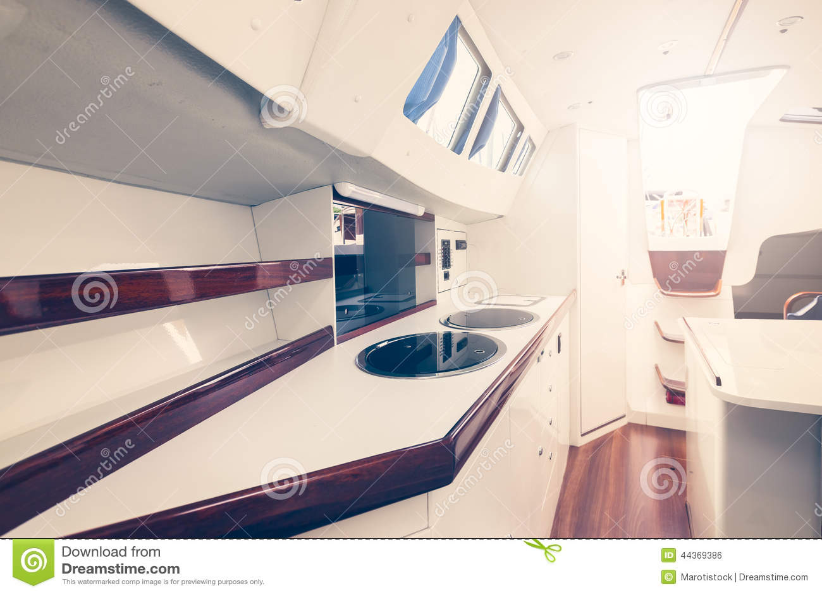 Interno dell yacht