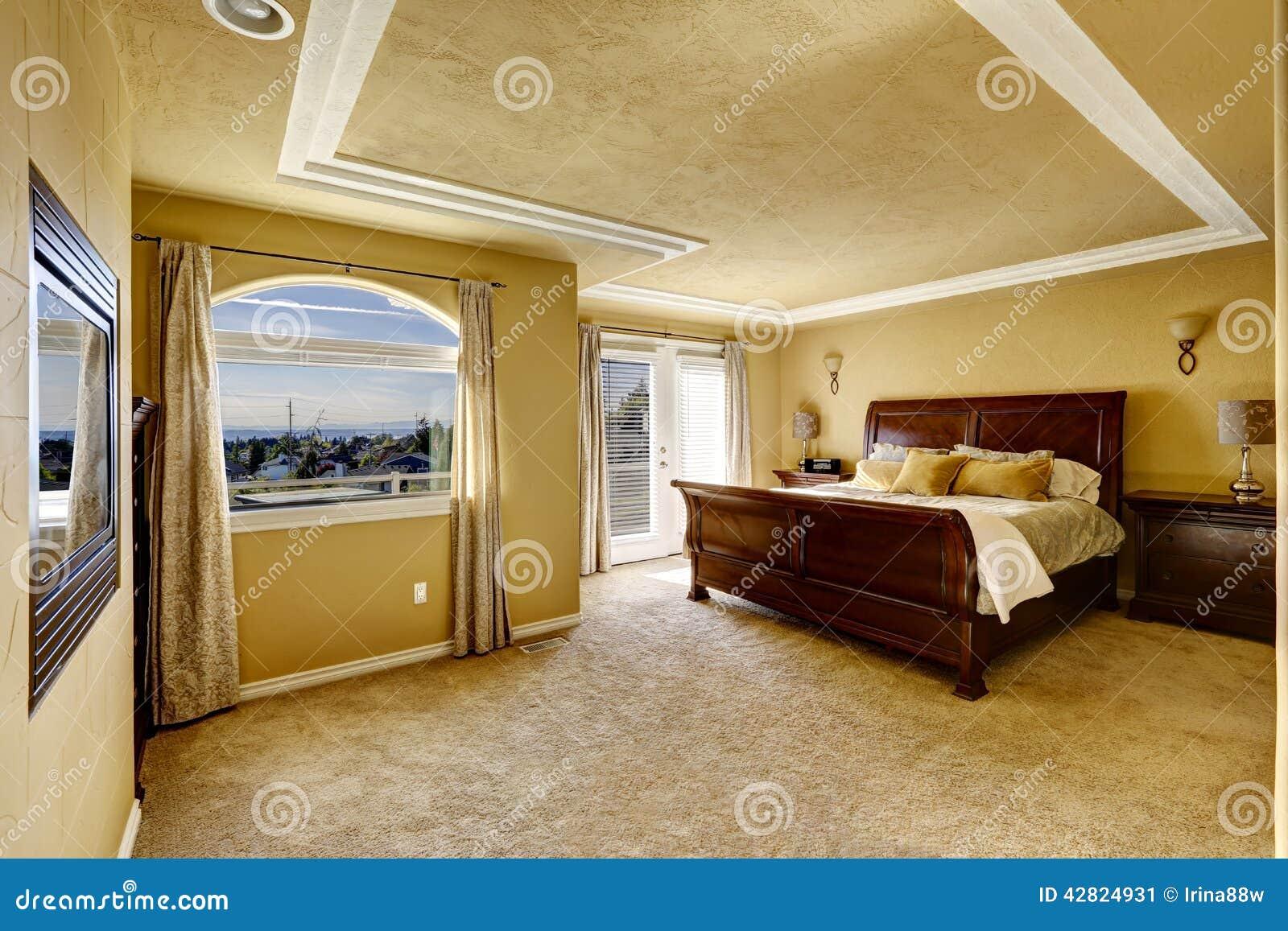 camera da letto oro. Black Bedroom Furniture Sets. Home Design Ideas