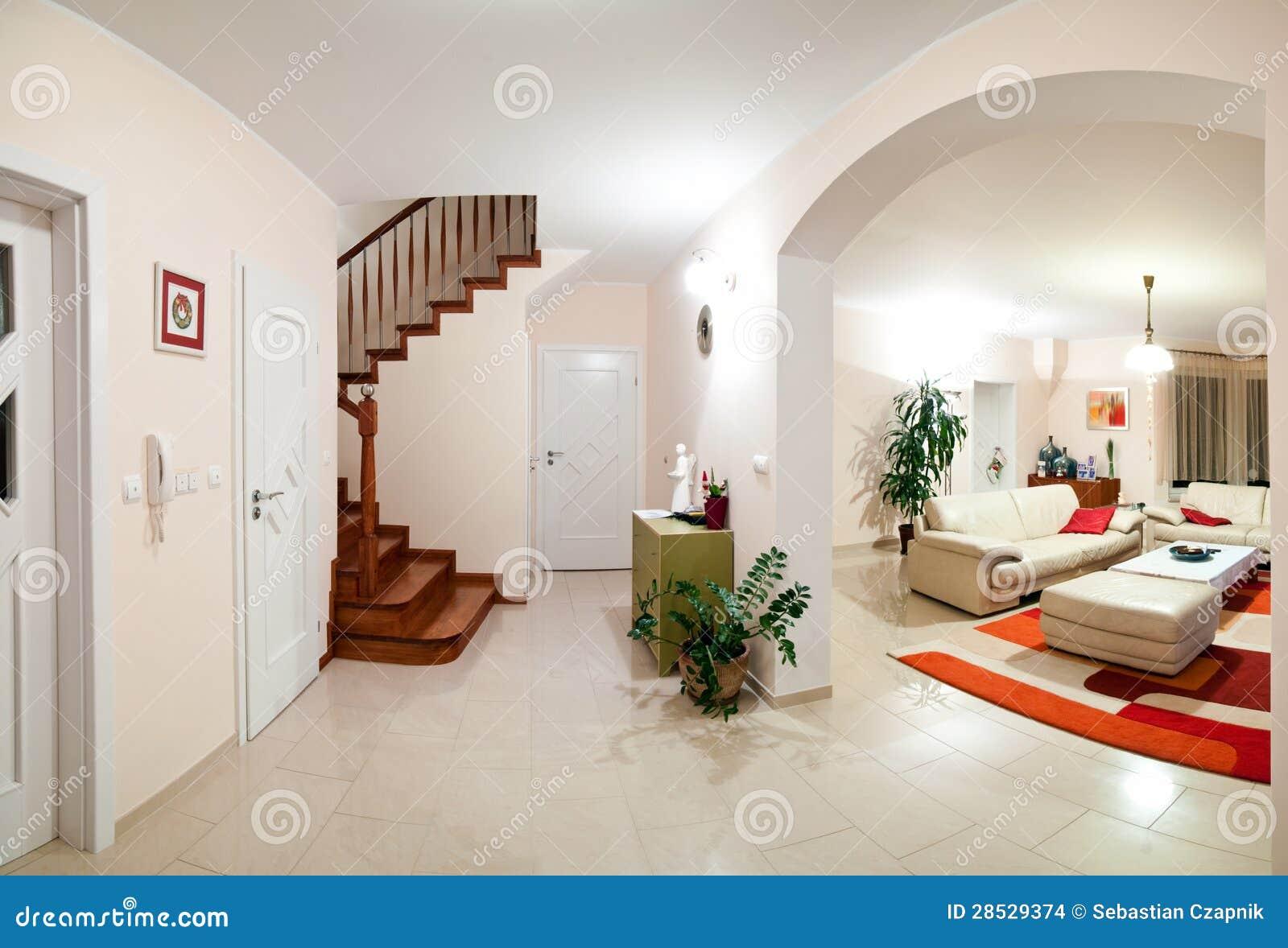 Interno della casa moderna immagini stock immagine 28529374 for Prezzo della casa moderna