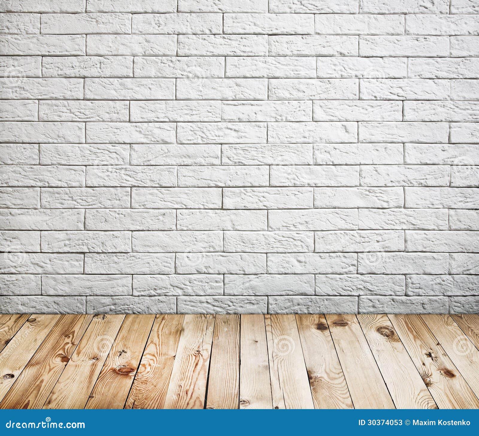 Interno Della Stanza Con Il Muro Di Mattoni Bianco Fotografie Stock - Immagine: 30374053