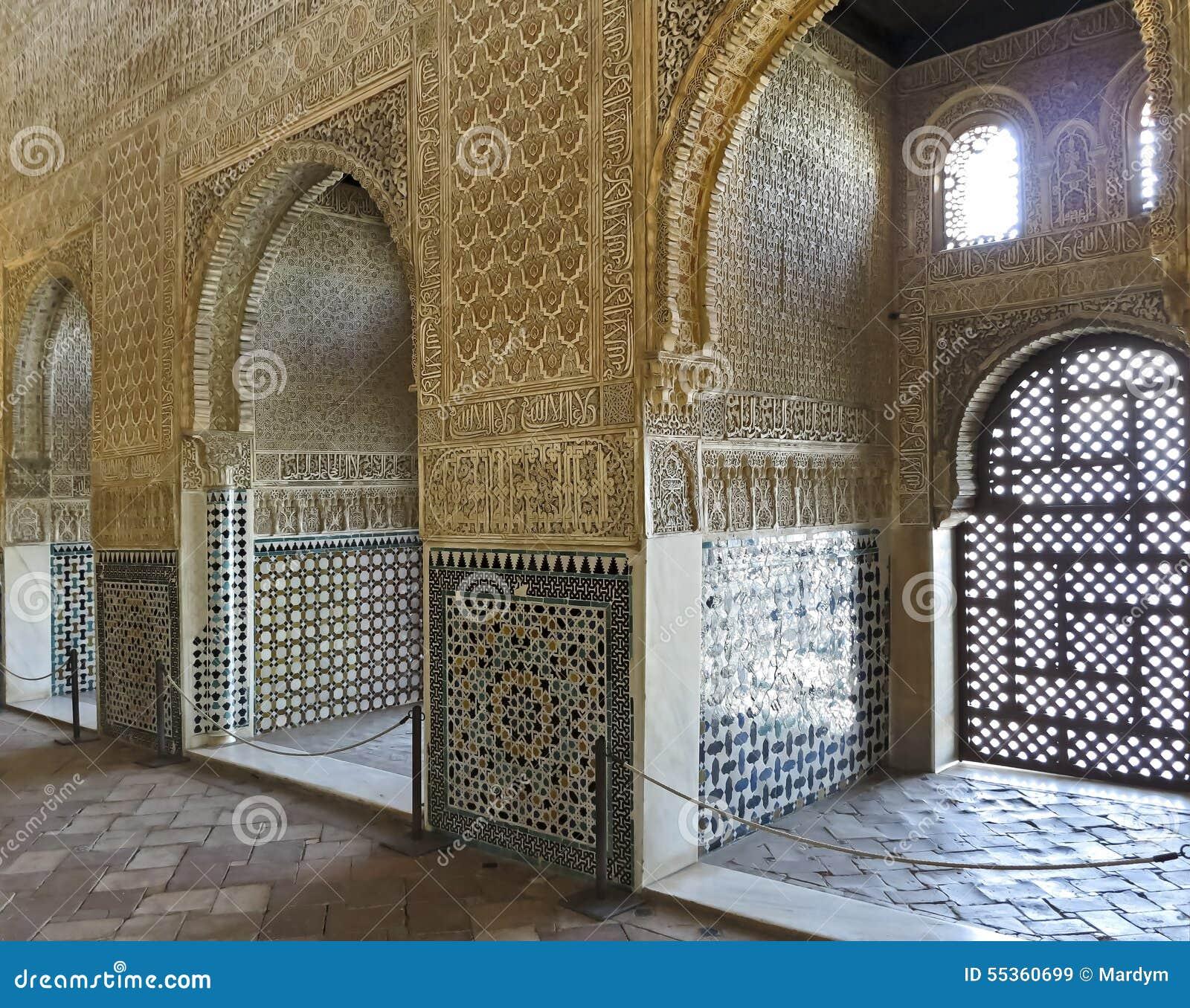 Interno di Alhambra Granada