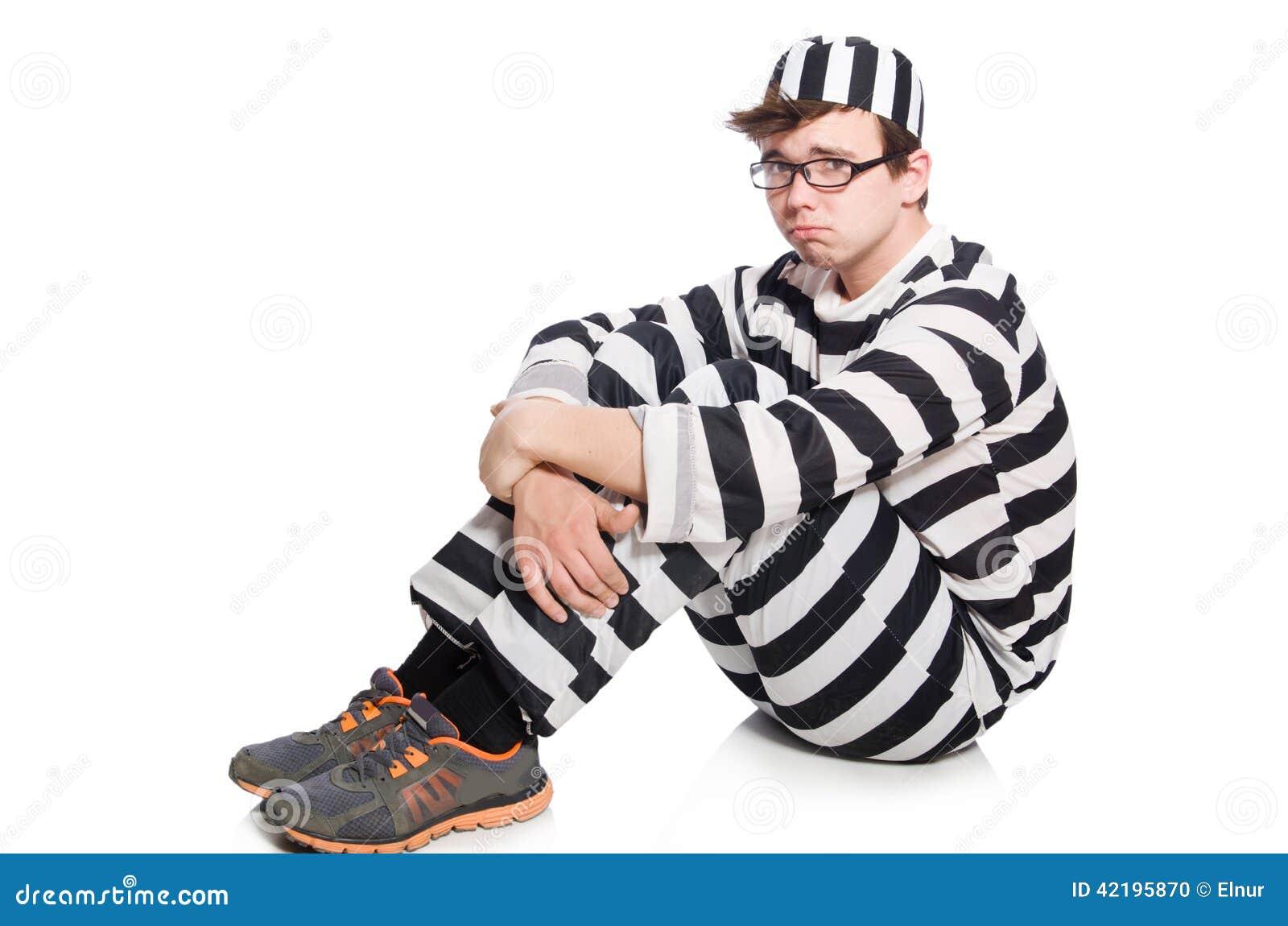 Interno divertido de la prisión