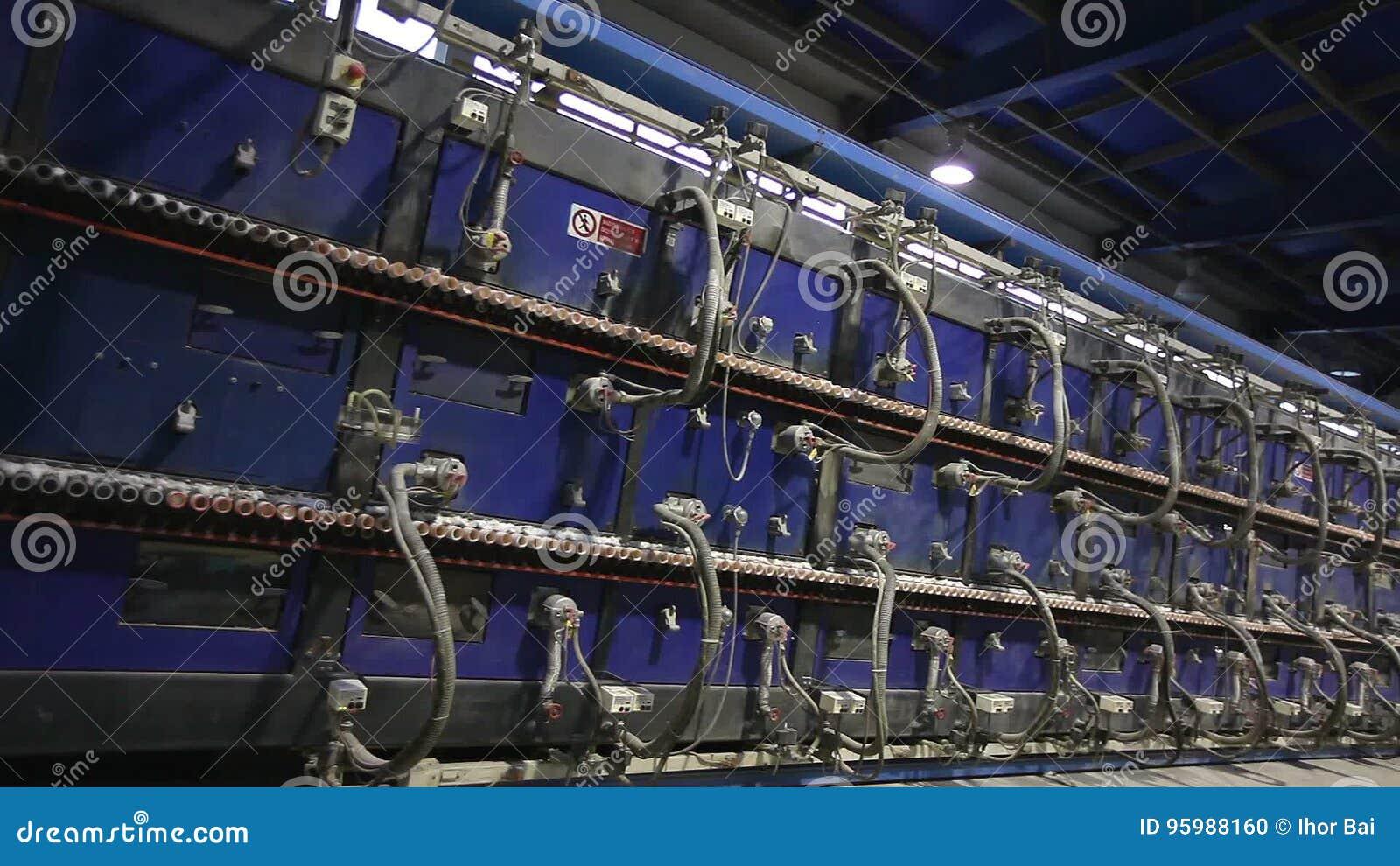 Interno industriale forno di tunnel per le piastrelle di ceramica
