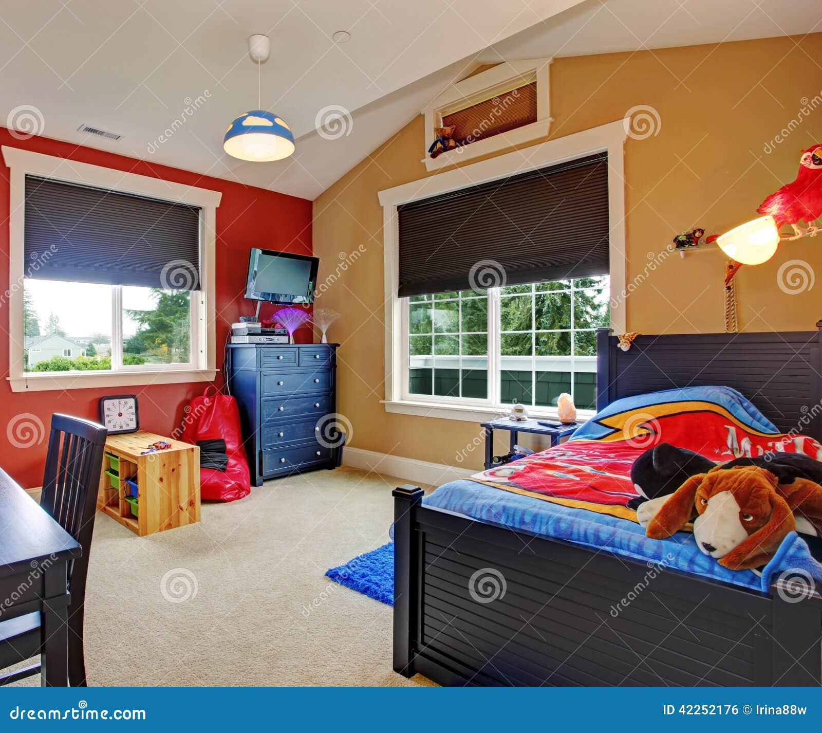 Interno variopinto della stanza dei bambini