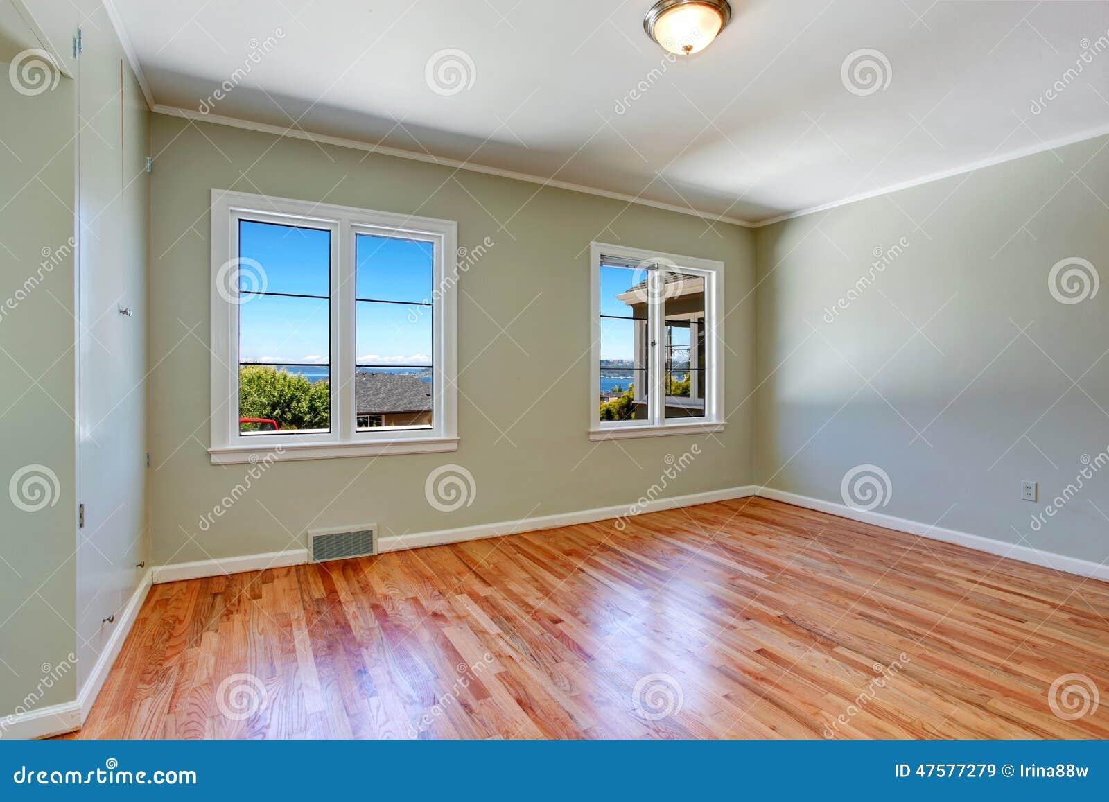 Interno vuoto della camera da letto principale