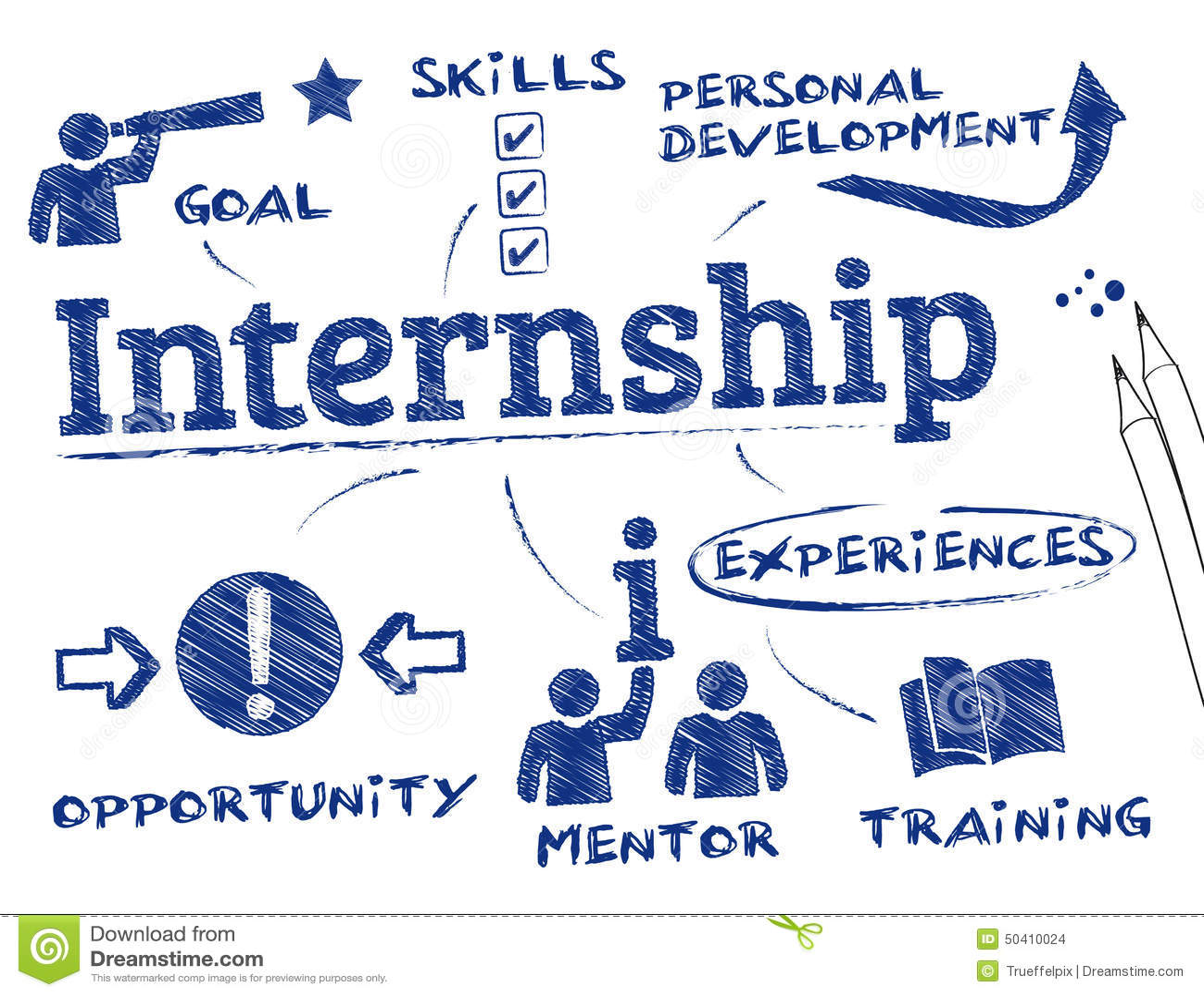 Internship Stock Illustration Image Of Mentoring Improve