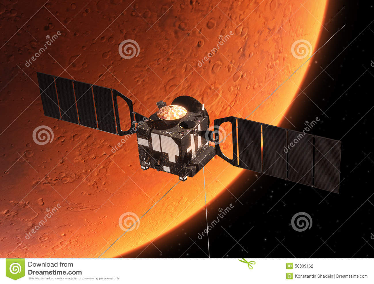 drawing of mars space station - photo #18