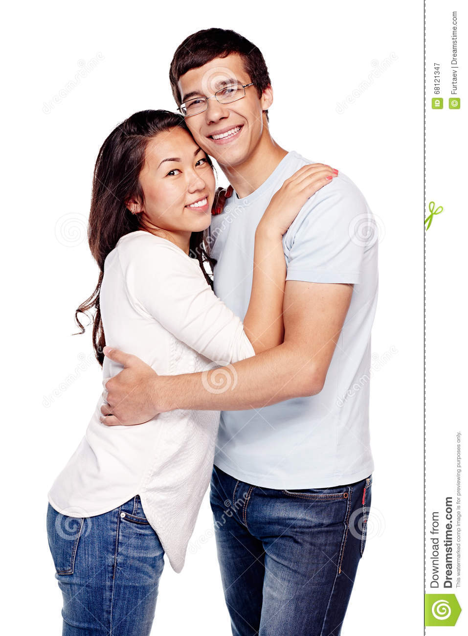 Hispanic girl dating asian guy