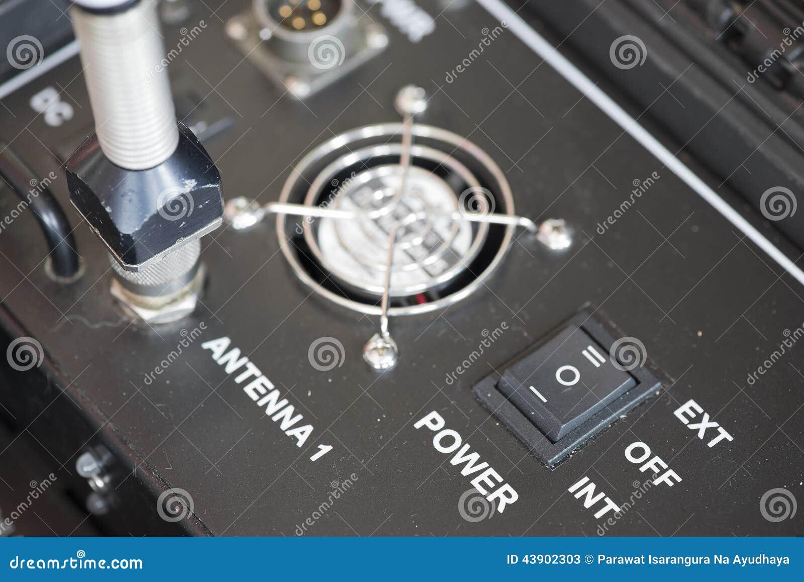 Interruptor de controle do poder