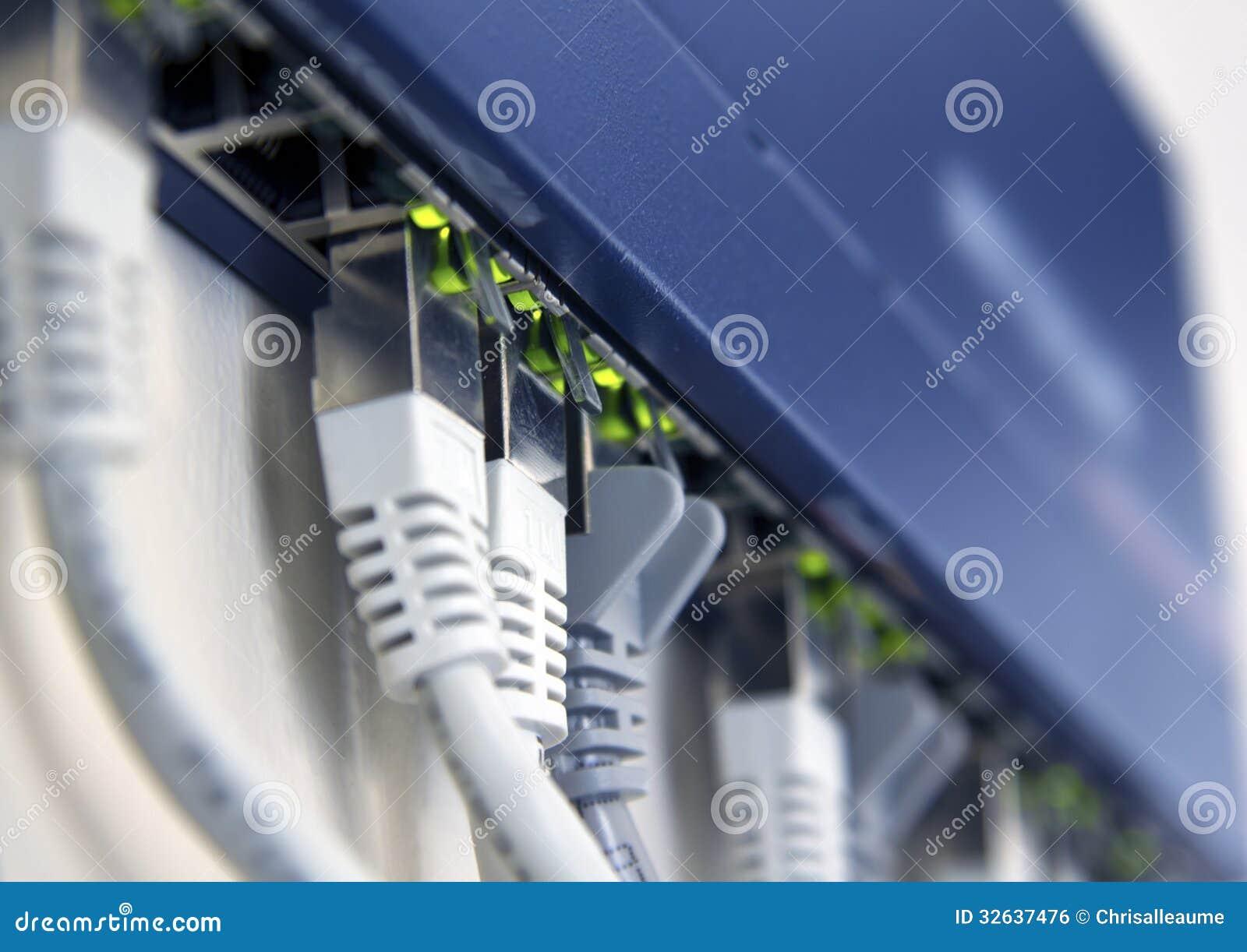 Interruptor de rede ativo