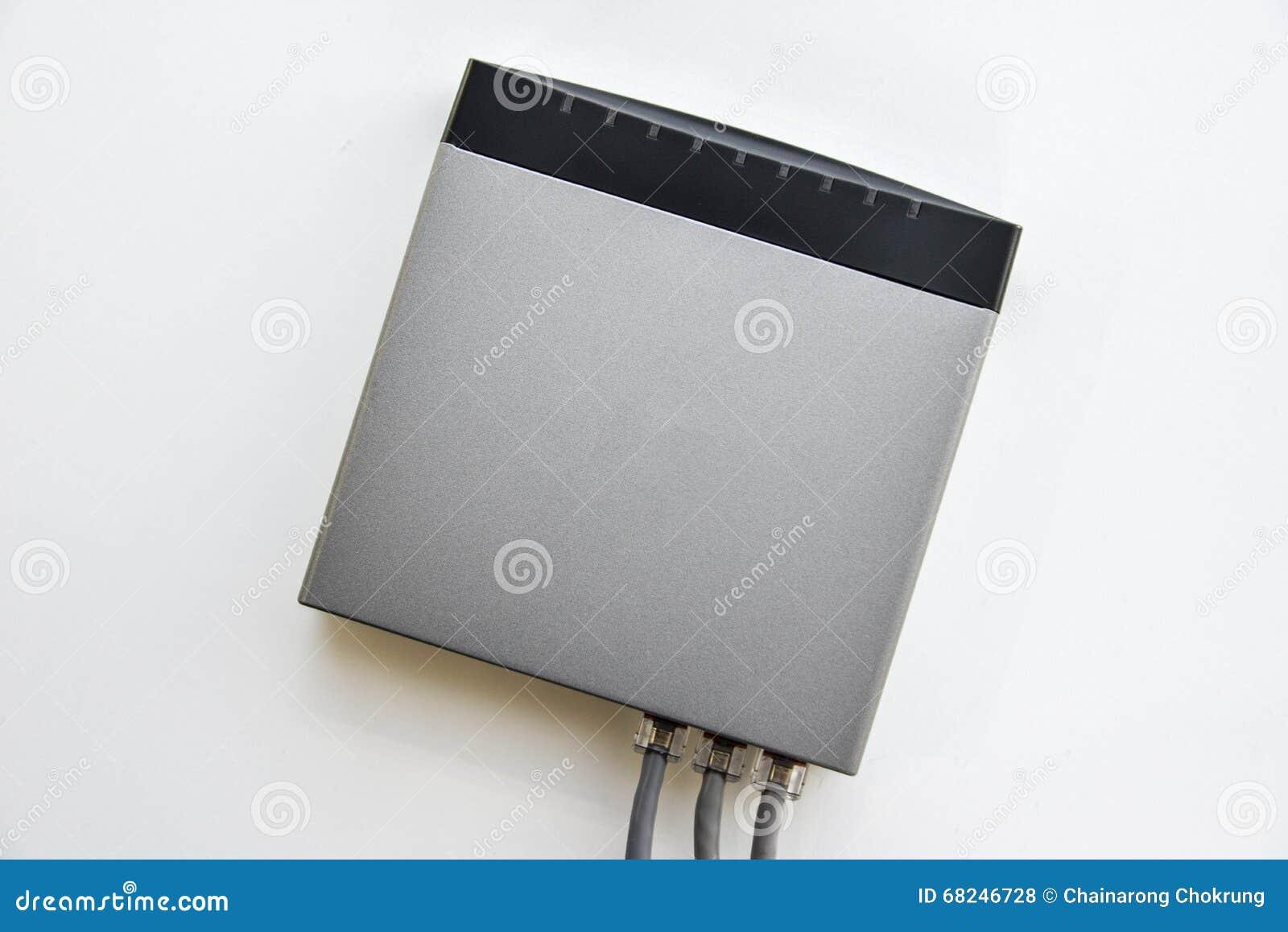 Interruptor de rede pequeno