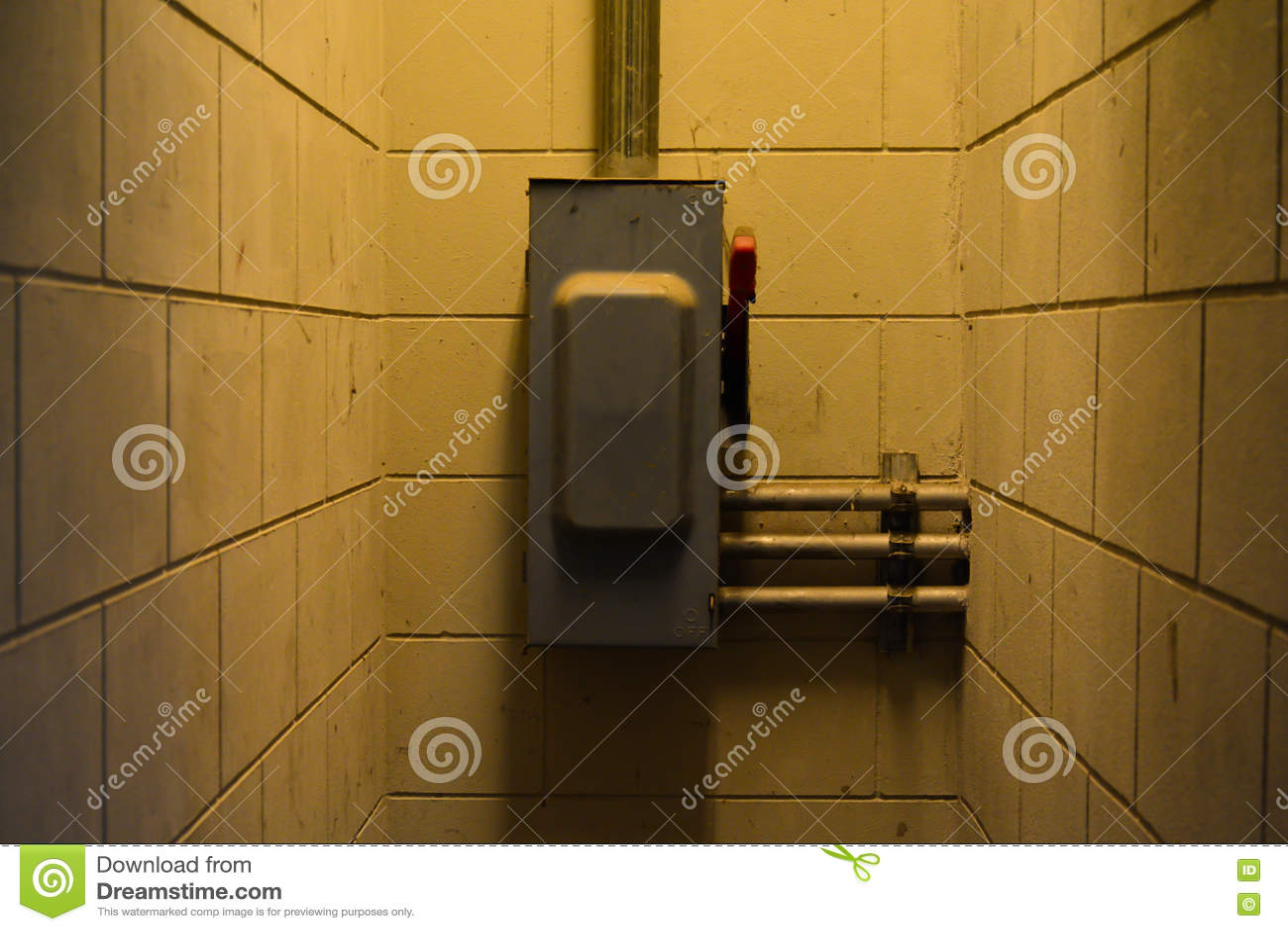 Interruptor do disjuntor principal