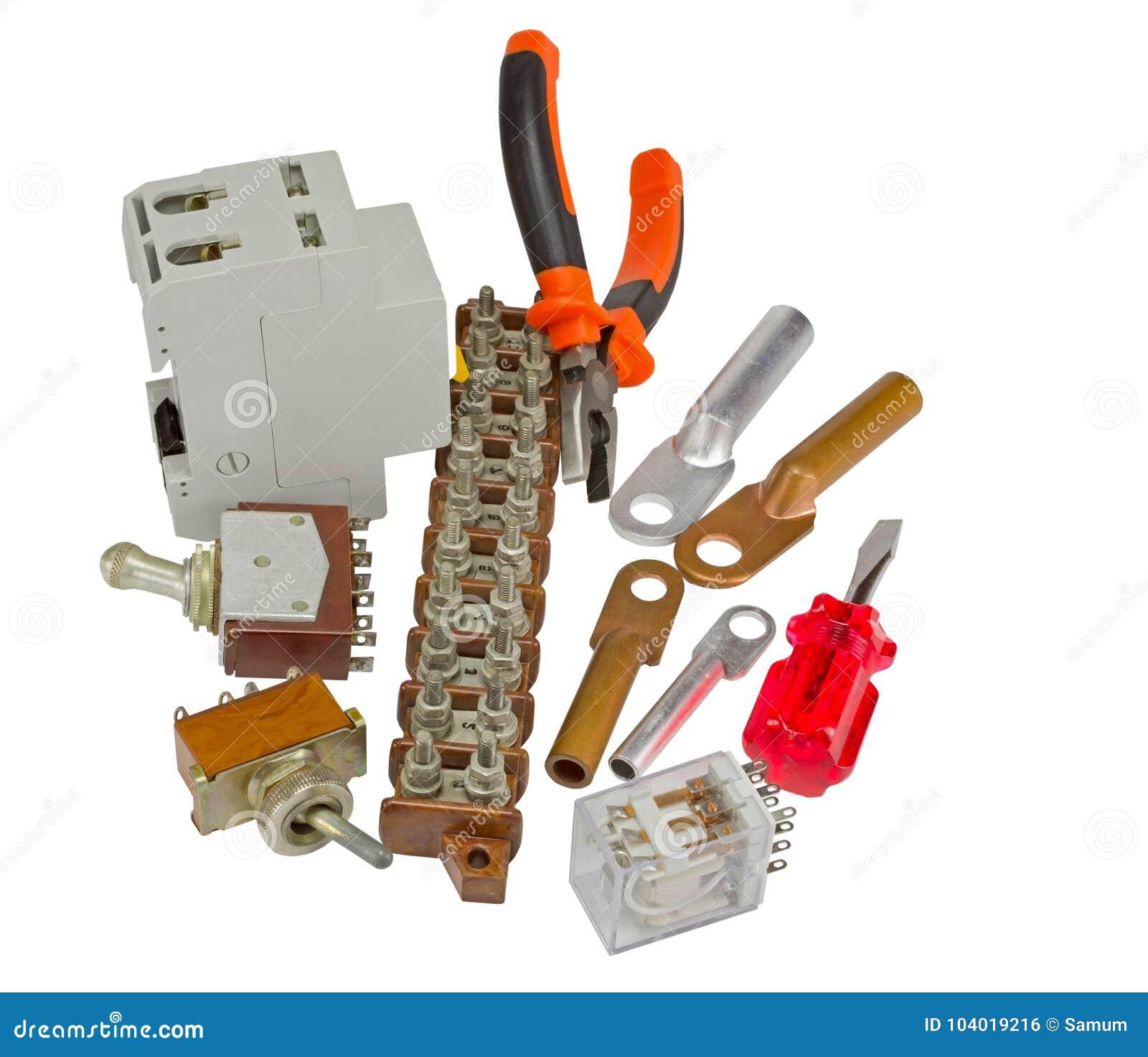 Interruptor e ferramentas automáticos