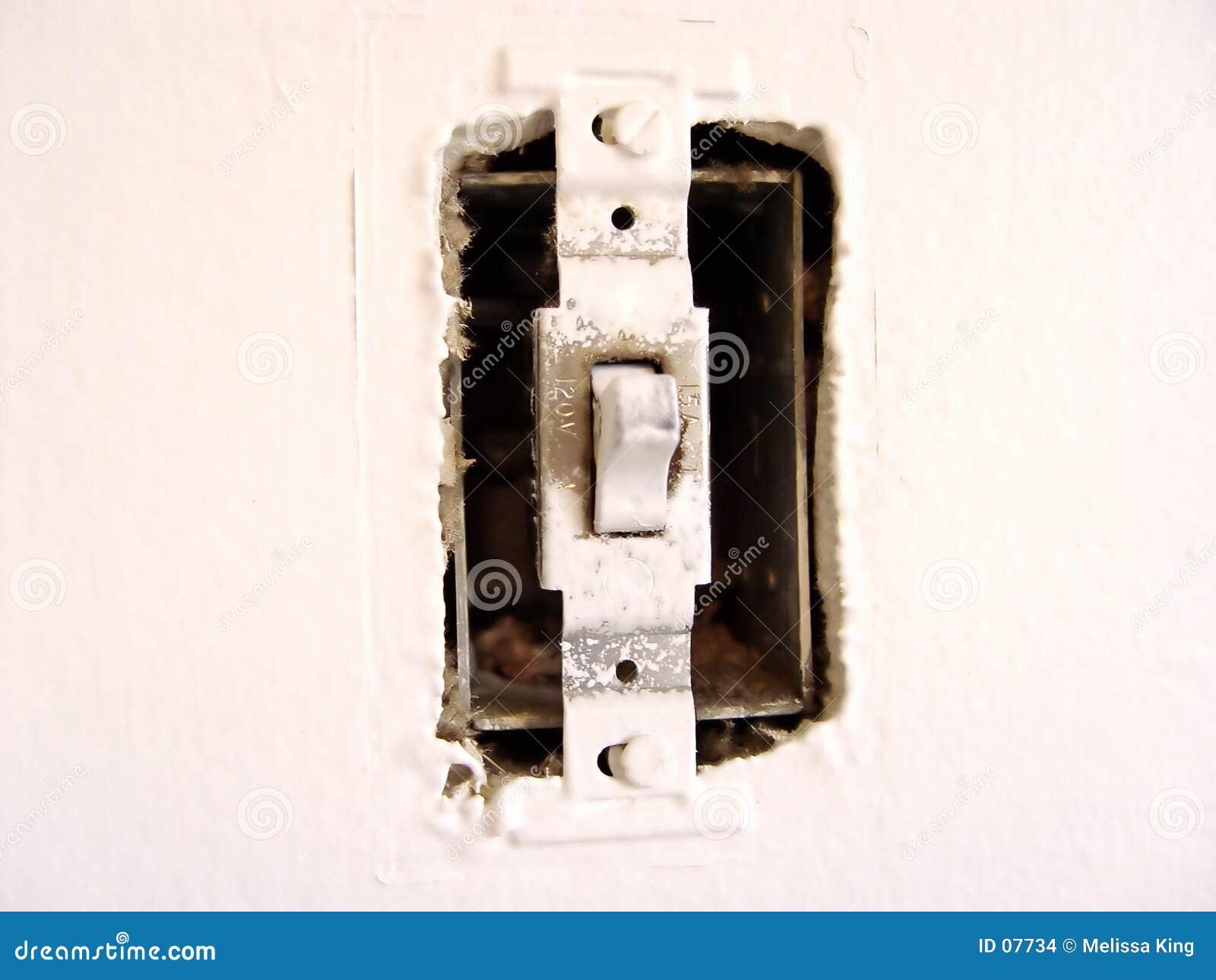 Interruptor leve velho