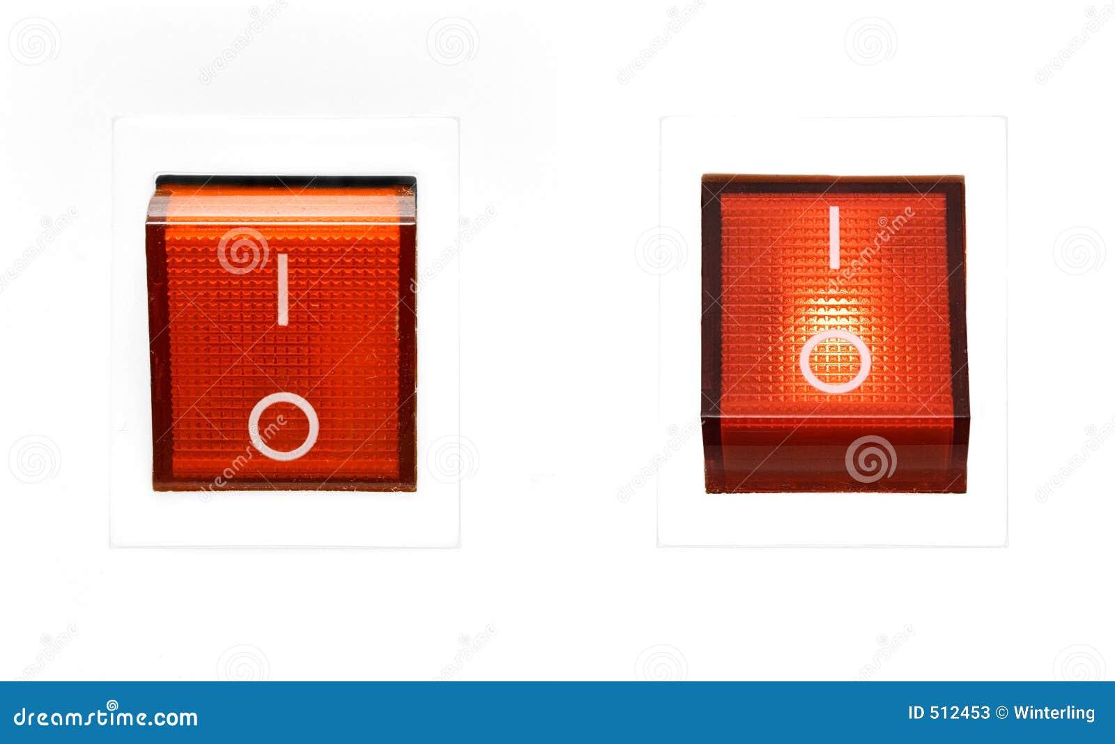 Interruptor rojo - CON./DESC.