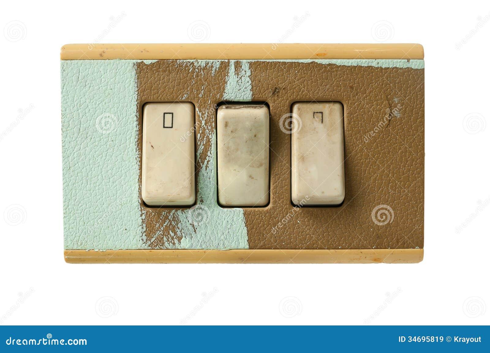 Interruptores sucios