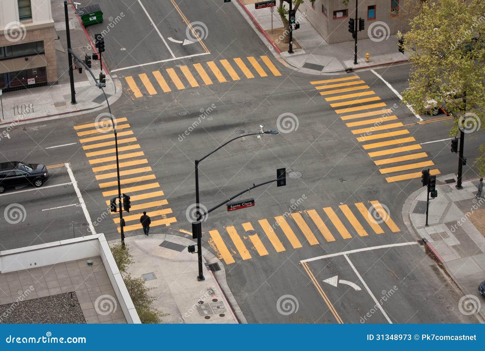 Intersección de la calle