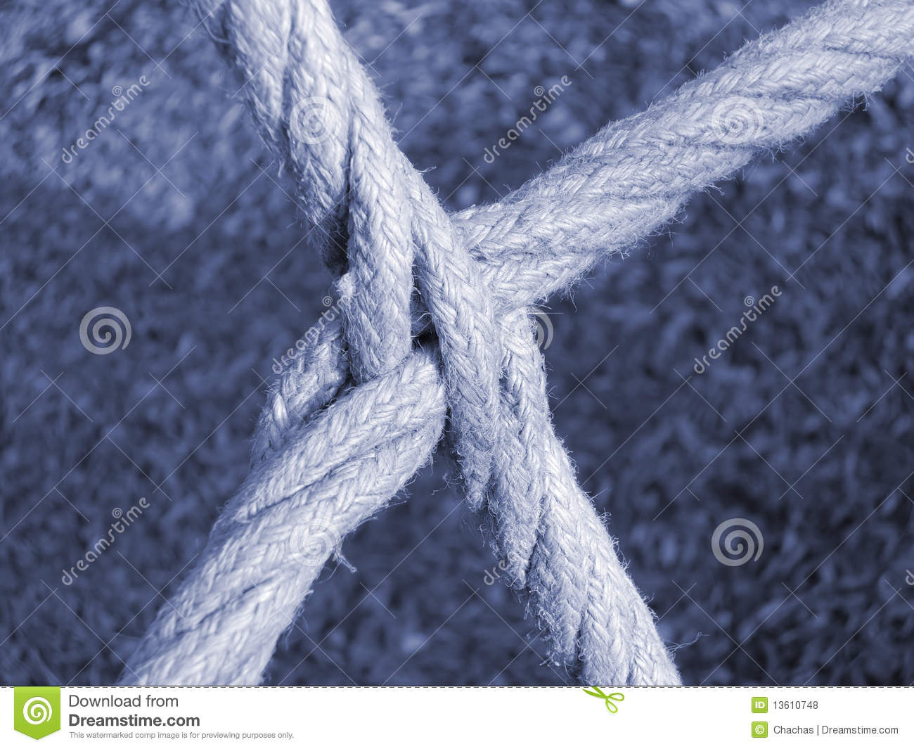 Intersecting Ropes Royalty Free Stock Photos - Image: 13610748