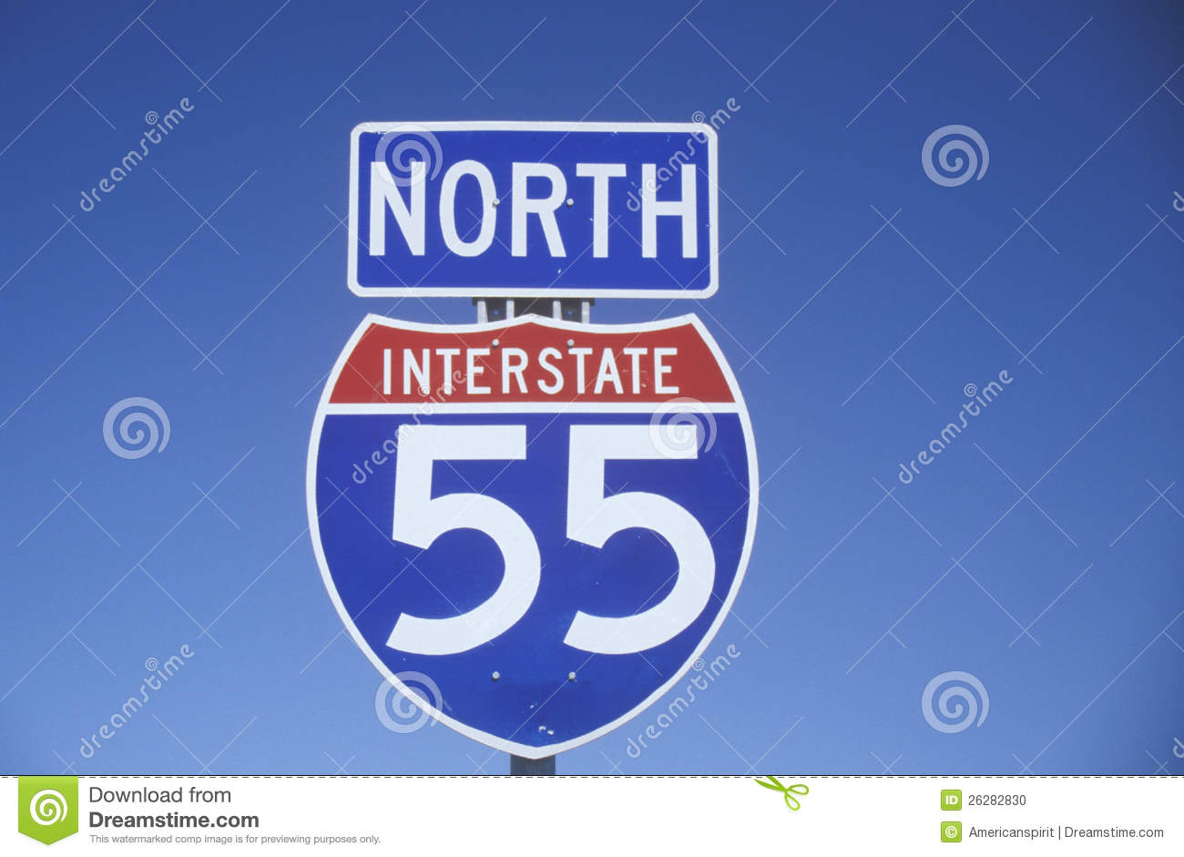 how to read interstate signs
