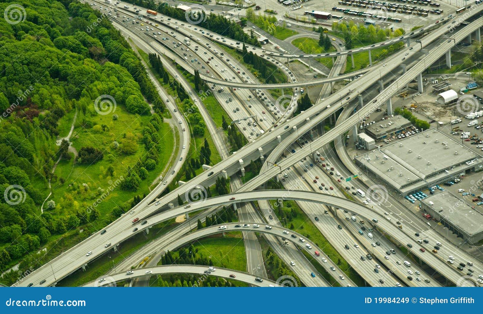 Interstate Junction Aerial View