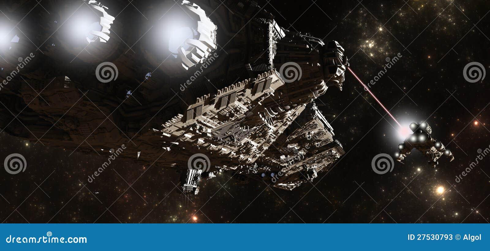 Interstellar slagskeppjakt