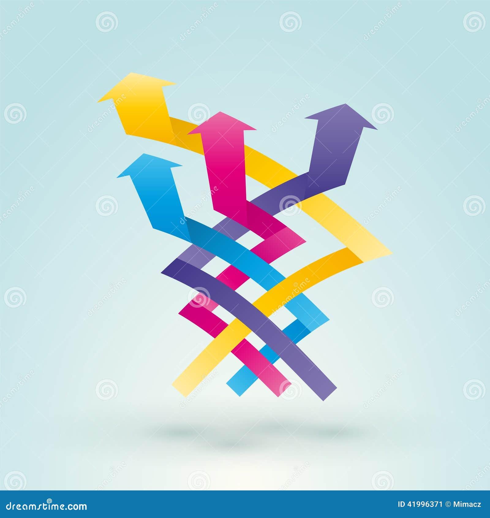 Intertwined arrow