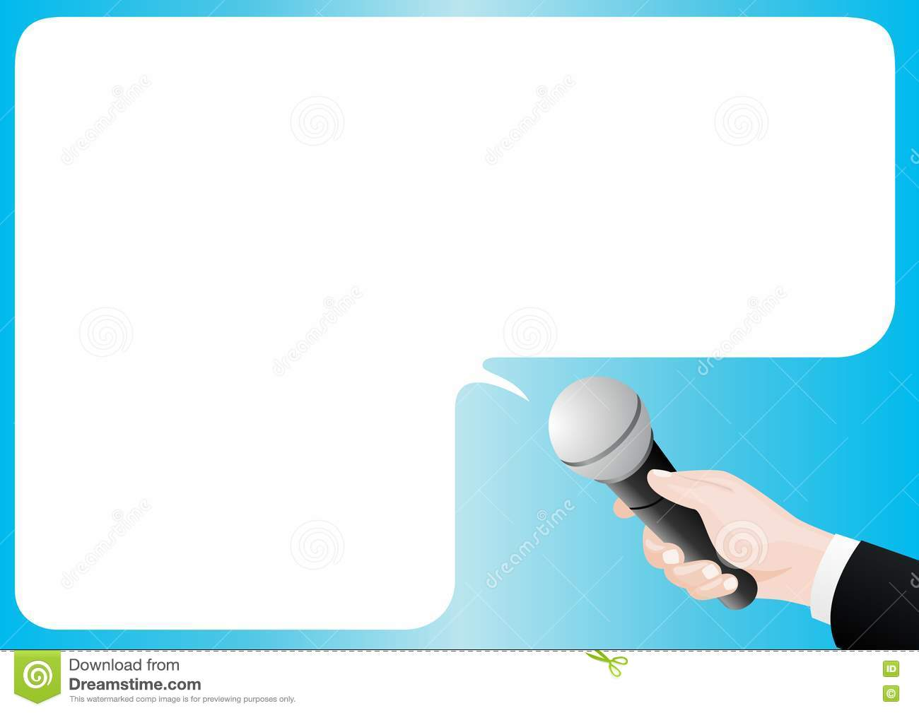 interview stock vector  illustration of sleeve