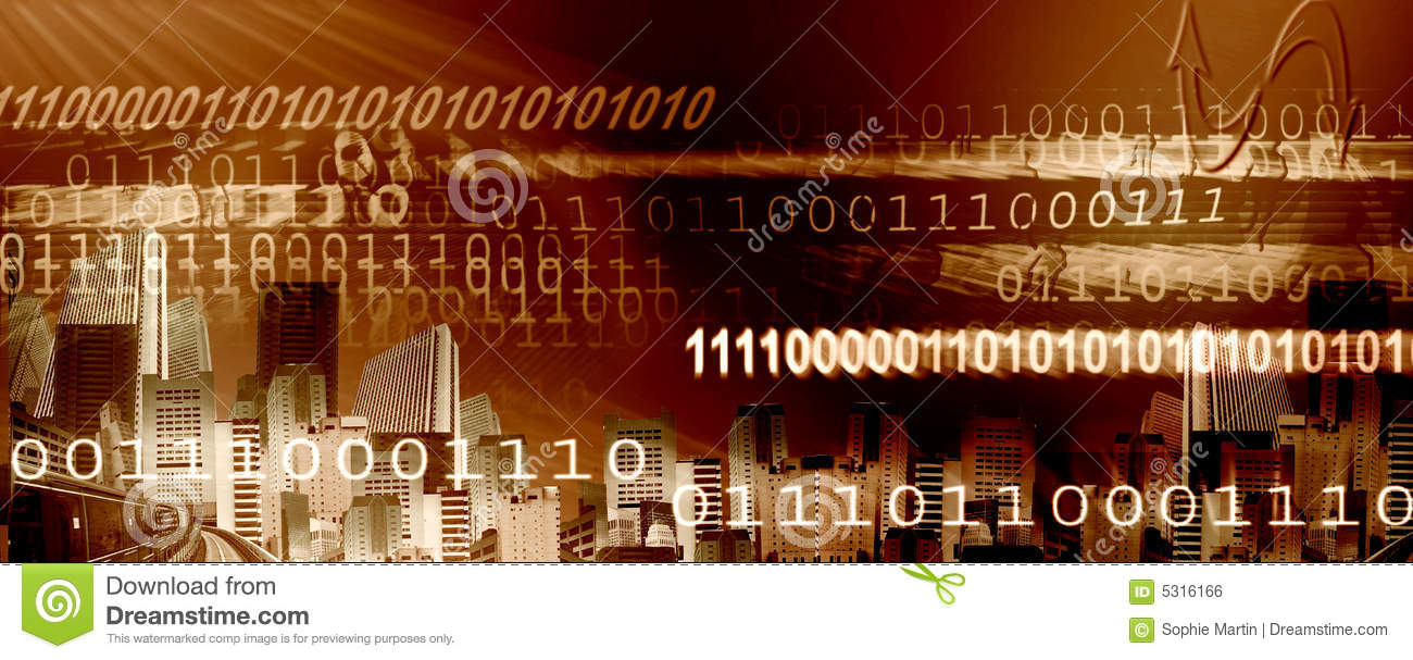 Download Intestazione del Internet illustrazione di stock. Illustrazione di byte - 5316166