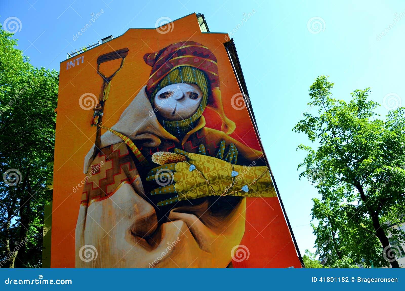 Grafitti art oslo - Artist Graffiti Inti Oslo