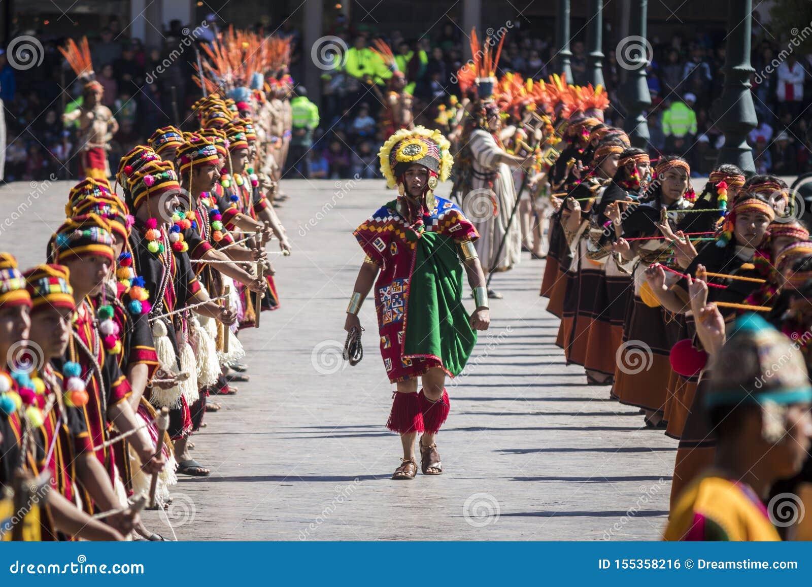 Inti Raymi 2019 Cusco, Peru Editorial Photo - Image of cusco