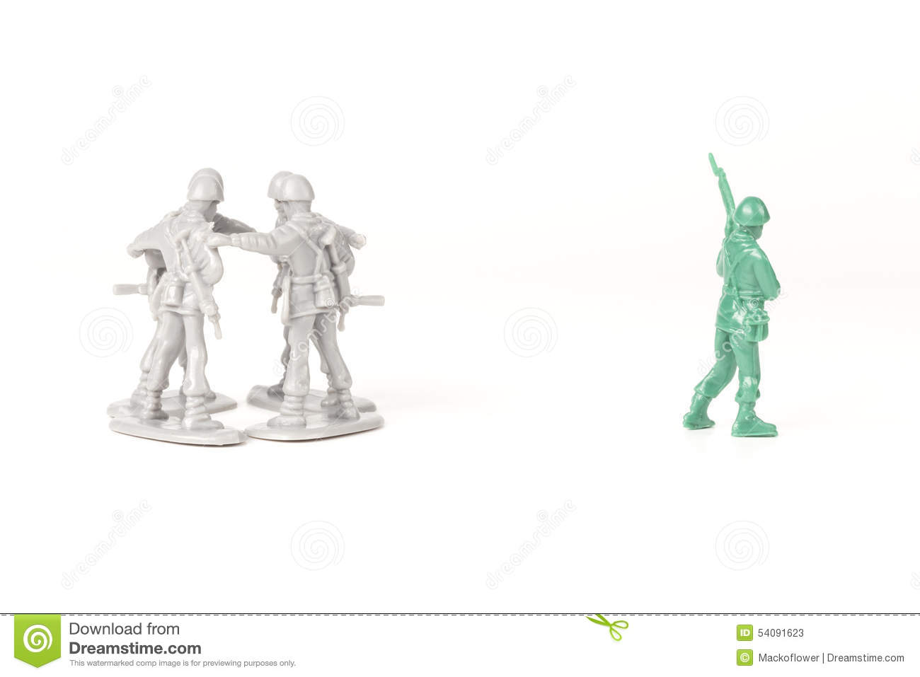 Intimiderend Toy Soldiers