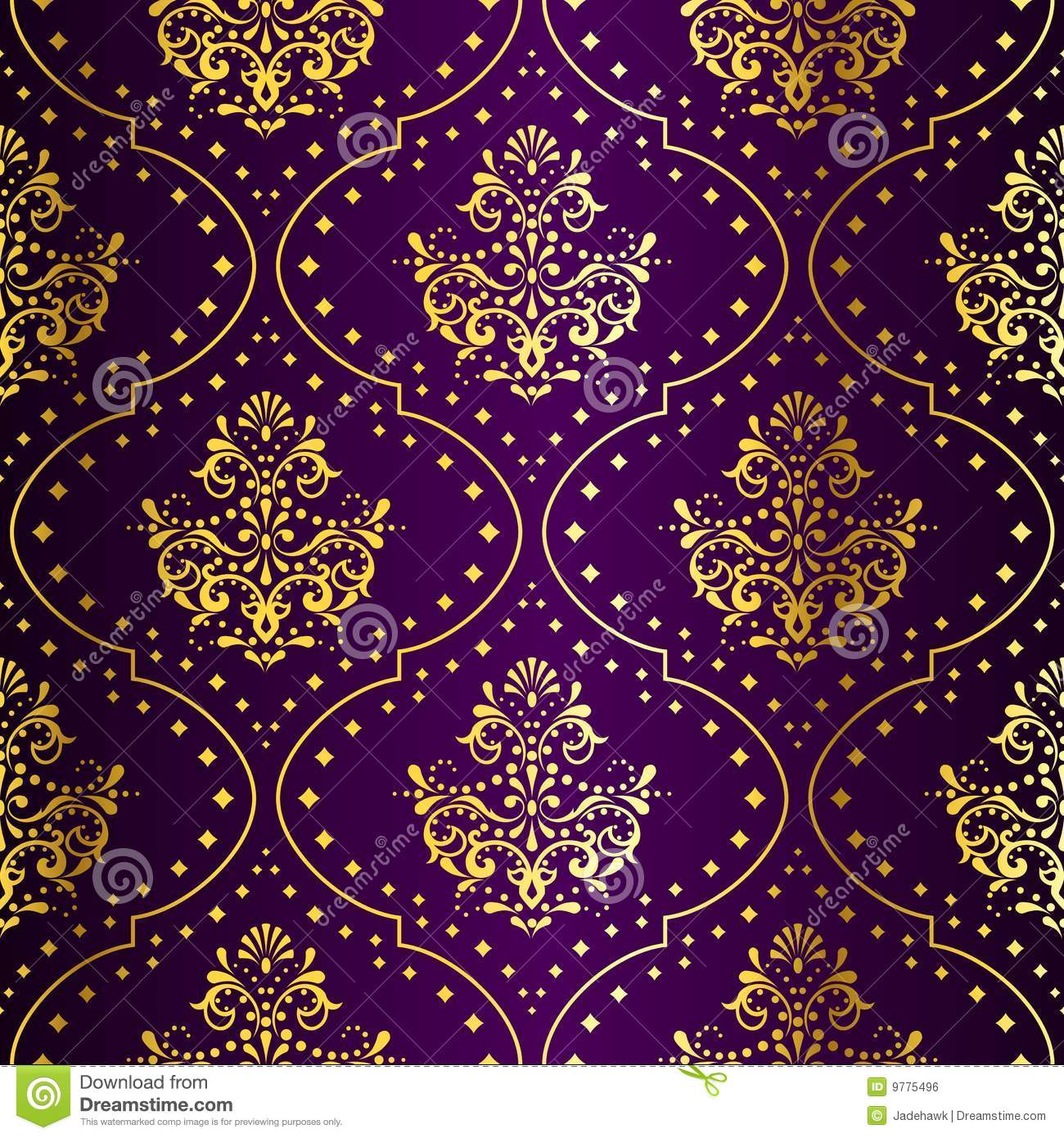 purple brocade wallpaper