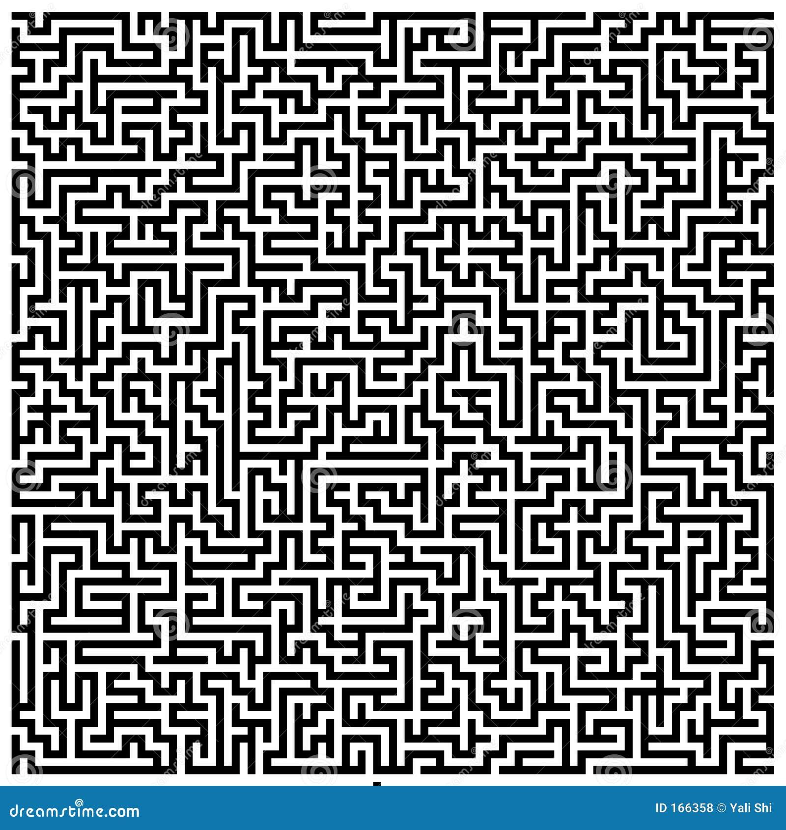 Intricate Maze