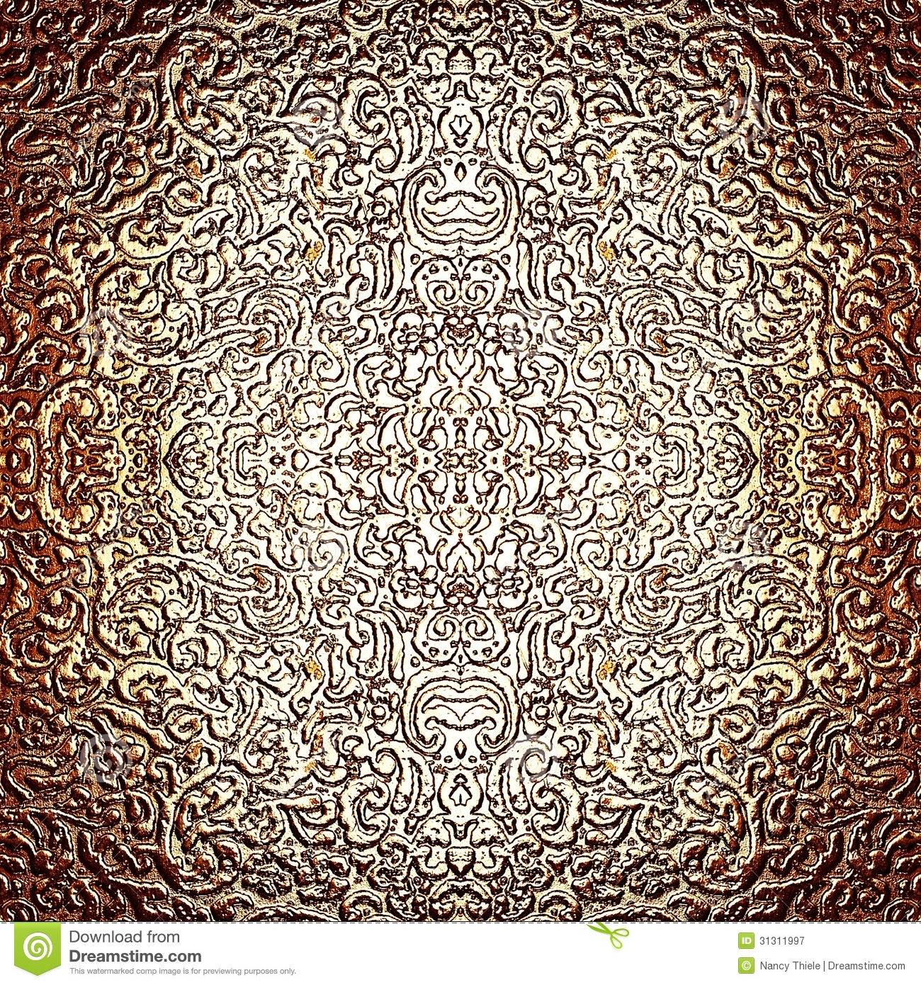 Charming Antique Silver Patterns Part - 6: Abstract Antique Background Burnished Intricate Pattern Silver ...