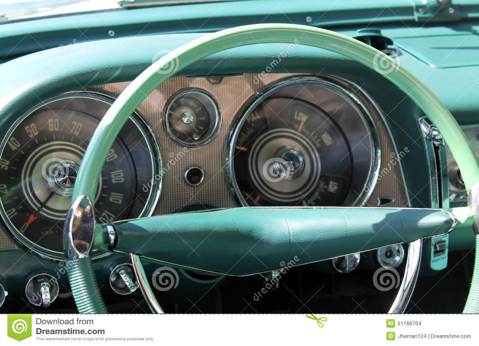 Int rieur am ricain de luxe classique de voiture photo for Interieur de voiture