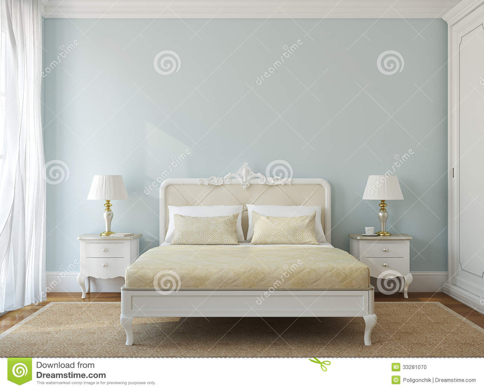 Chambre mauve clair Chambre a coucher classique chic