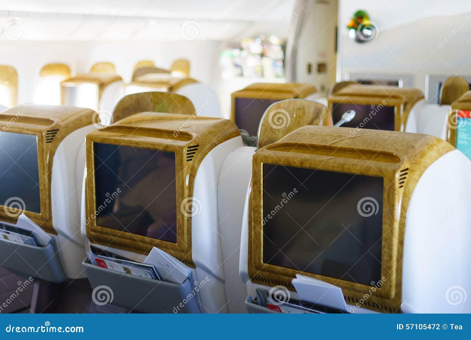 Int rieur d 39 avions de boeing 777 300er d 39 mirats for Interieur 777 300