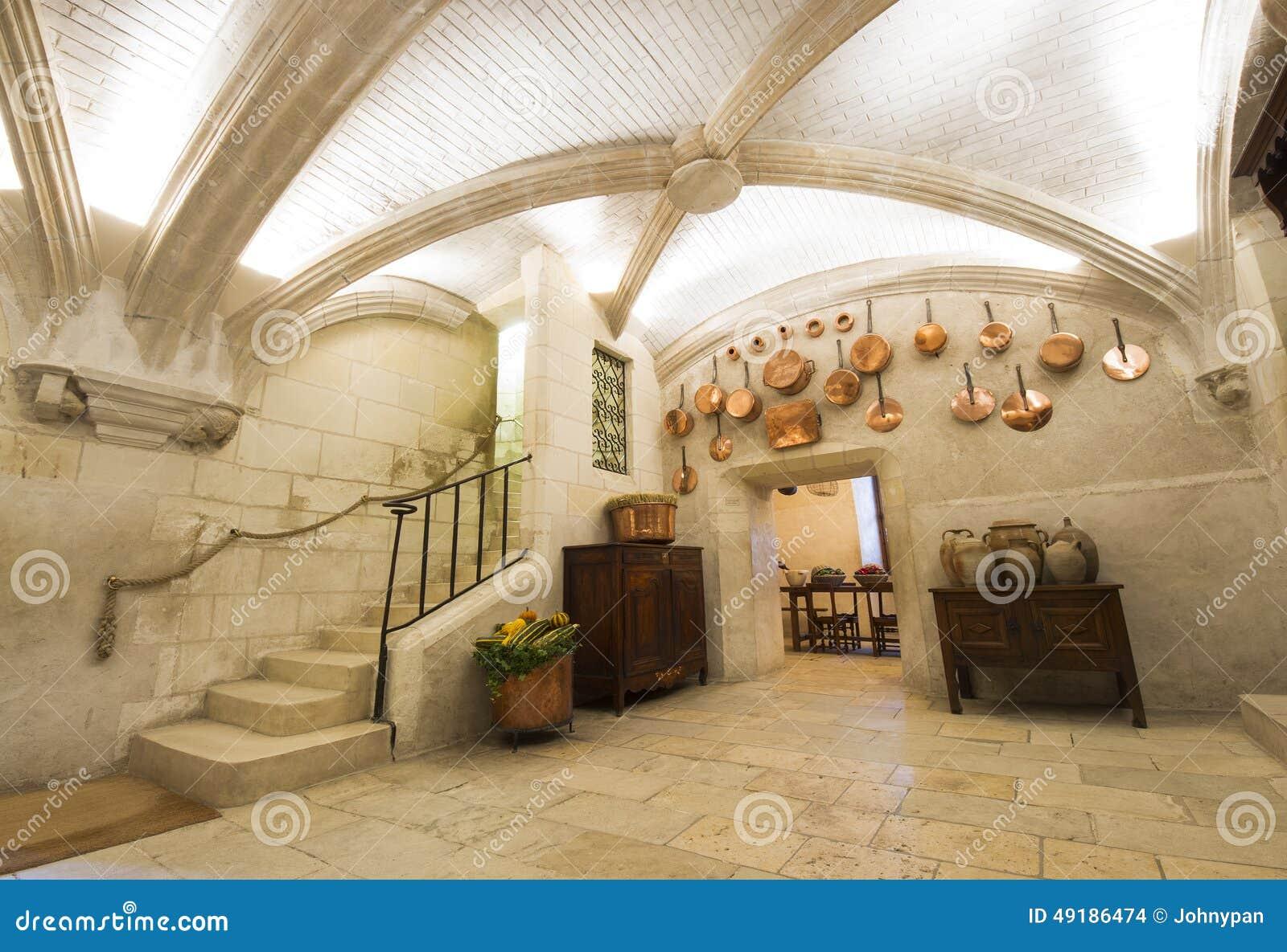 Int rieur de ch teau de chenonceaux vue de cuisine image for Chateau chenonceau interieur