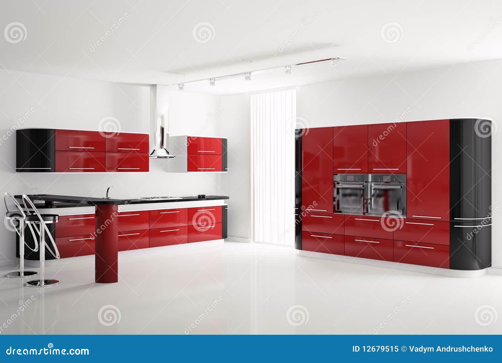 chambre a coucher moderne rouge et noir. Black Bedroom Furniture Sets. Home Design Ideas