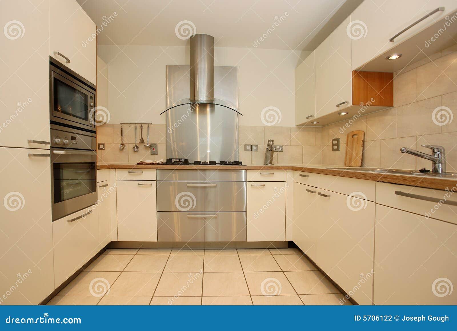 Intérieur de luxe moderne de cuisine photographie stock   image ...
