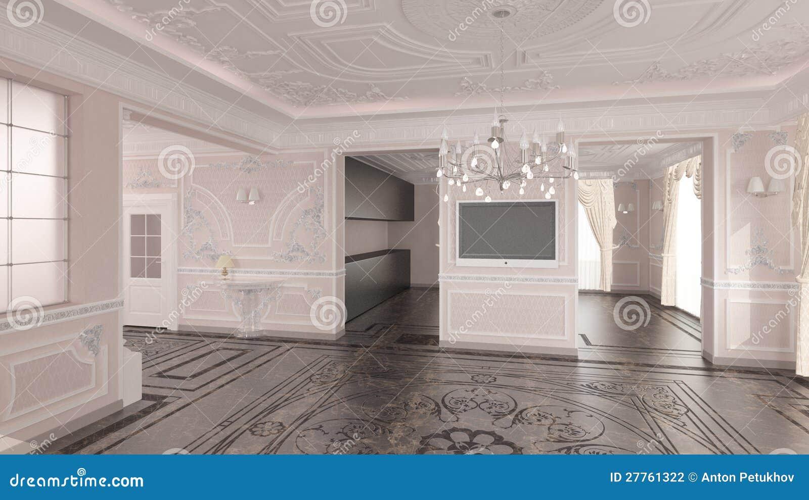 Int rieur de maison classique photographie stock image for Image maison classique