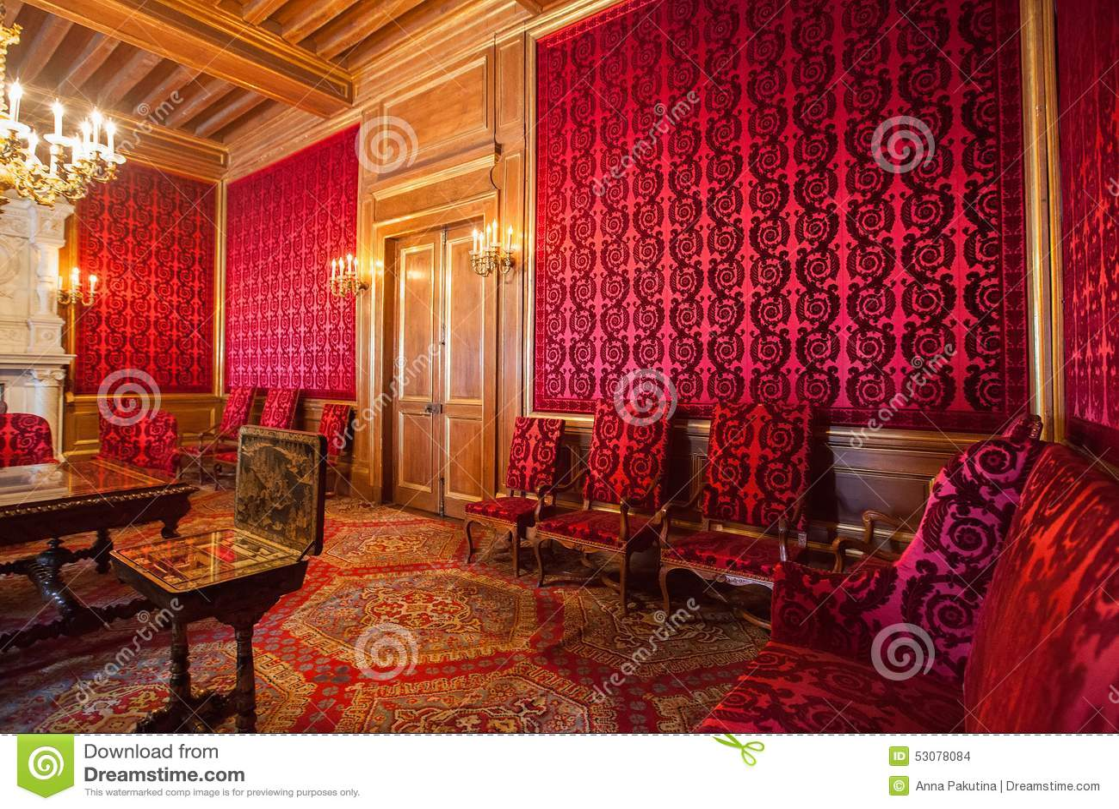 Int rieur de pau castle ch teau de pau france image for Interieur frans