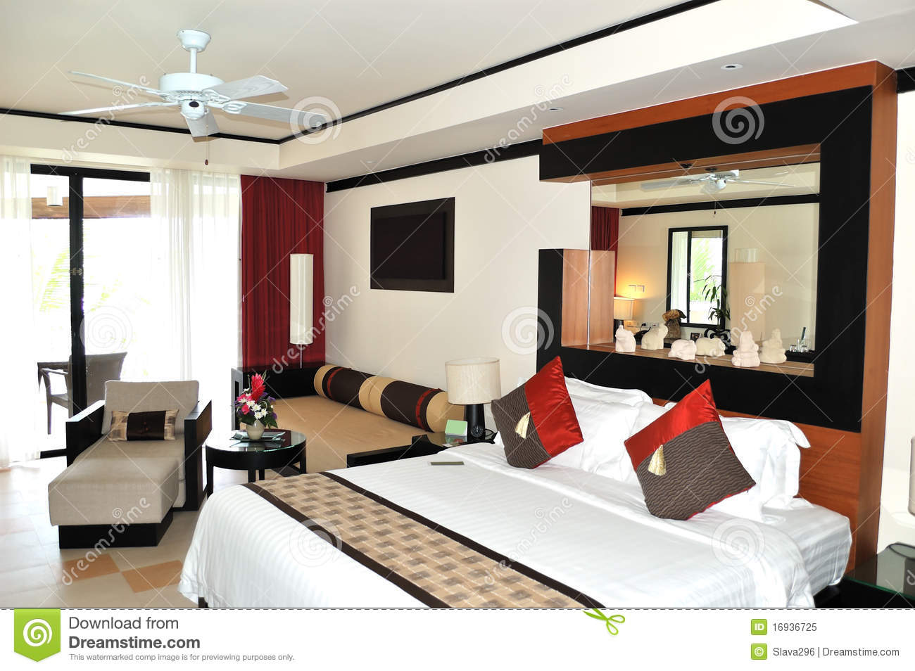 Chambre Hotel Luxe Moderne
