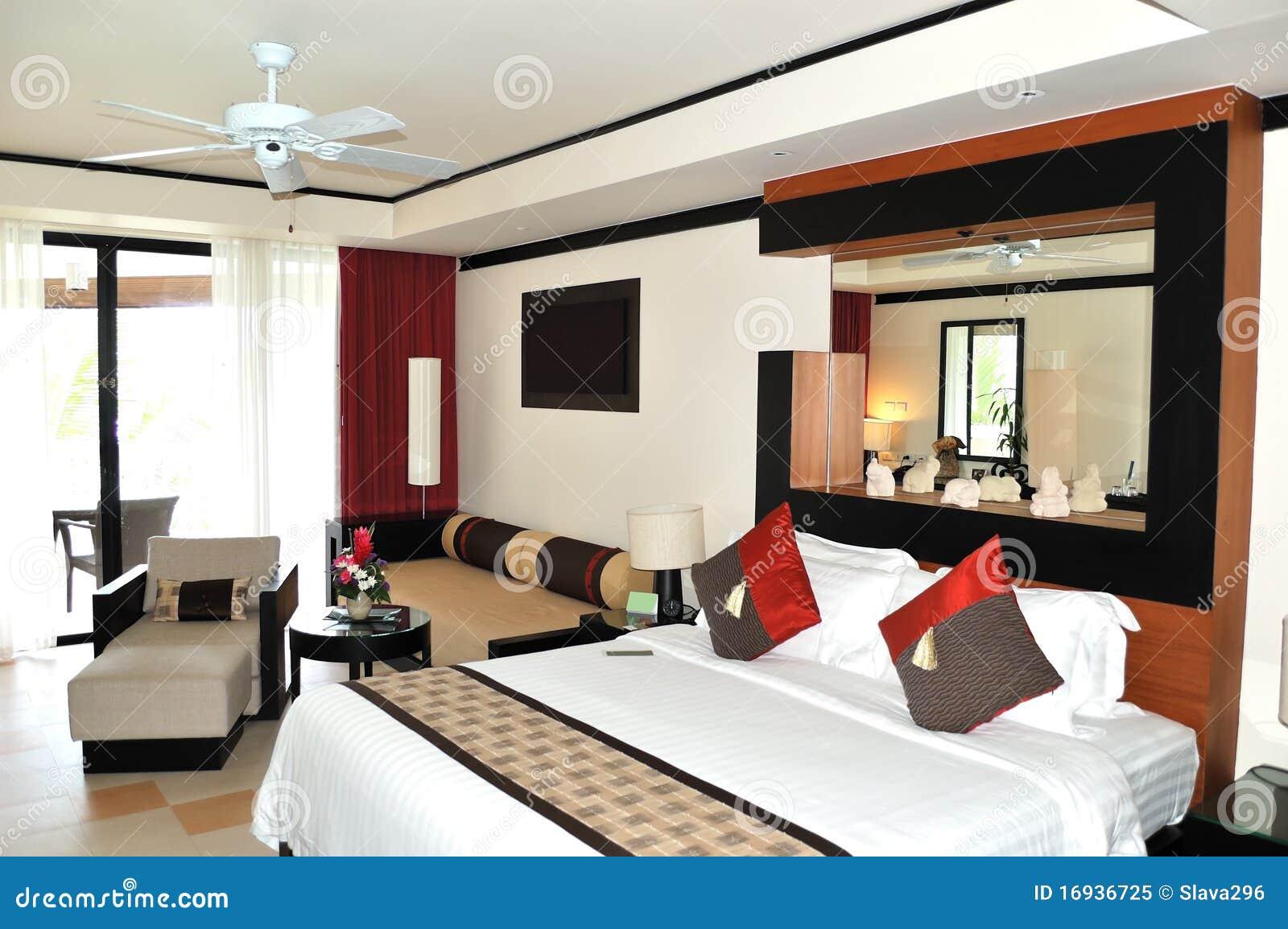 Intérieur de villa à l'hôtel de luxe moderne photo libre de droits ...