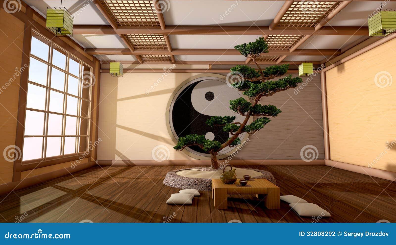 Int rieur japonais photographie stock image 32808292 for Interieur japonais